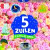 5 Zuilen familiespel (bloemen)