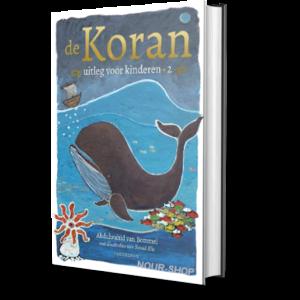 Als kind vragen stellen aan de Koran is spannend en leerzaam! Voor ouders schept het een band met het kind om samen de Koran te ontdekken. In het gesprek kan het kind zelf vragen stellen en krijgt het ook vragen terug. Dat gebeurt in de stijl van 'filosoferen met kinderen'. In dit tweede deel van de succesvolle serie 'De Koran, uitleg voor kinderen' staan 13 soera's met uitleg en 5 profetenverhalen met weer veel dieren in de hoofdrol: Joenus en de grote vis, het offerfeestverhaal over het jongetje Saliem en zijn schaapje, en de avonturen van de dromenuitlegger Joesoef. Net als alle andere kinderen lijken moslimkinderen vaak op mini-volwassenen met een volle agenda om maar niets te missen en goed te presteren. Moslimouders verwachten vaak dat vanuit de Koran een zekerheidsgeloof wordt aangeboden aan het kind, vol duidelijke regels en pasklare antwoorden. Toch blijkt het waardevoller voor een kind om zelf te ontdekken waar het naar zoekt. Een zelf ontdekt antwoord blijft nu eenmaal beter hangen dan iets wat van buiten af wordt opgelegd. In de Nederlandse cultuur zien leerkrachten daarom een vrij gesprek met het kind als een betere voorbereiding op de veelkleurige samenleving. De Koran, uitleg voor kinderen deel 2 is bedoeld voor thuis, de moskee en de bovenbouw van islamitische basisscholen. De serie verschijnt in vier delen. Ook voor kinderen in het niet-islamitisch onderwijs én hun ouders is deze kennismaking met de Koran een uniek en verrassend leesavontuur, vergelijkbaar met de klassieke kinderbijbel.