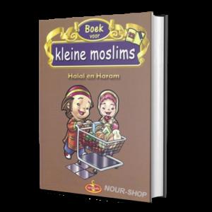 Kleine Moslims Deel Halal-en-Haram