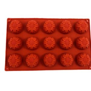 Siliconen bakvorm cirkel bloem