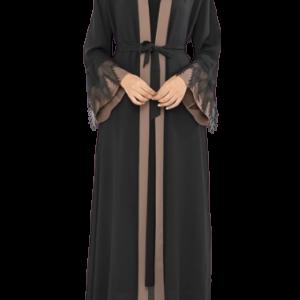 zwart abaya
