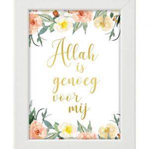 Allah is genoeg voor mij