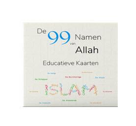 de 99 namen van allah educatieve kaarten