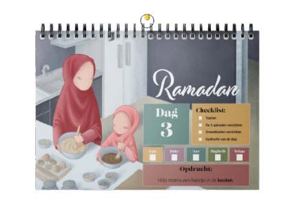 Ramadan kalender voor kinderen